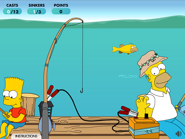 The Simpson S Movie Gone Fishin 2007 Son Of Bryce